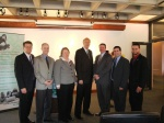State, local, WMECO and BCC officials